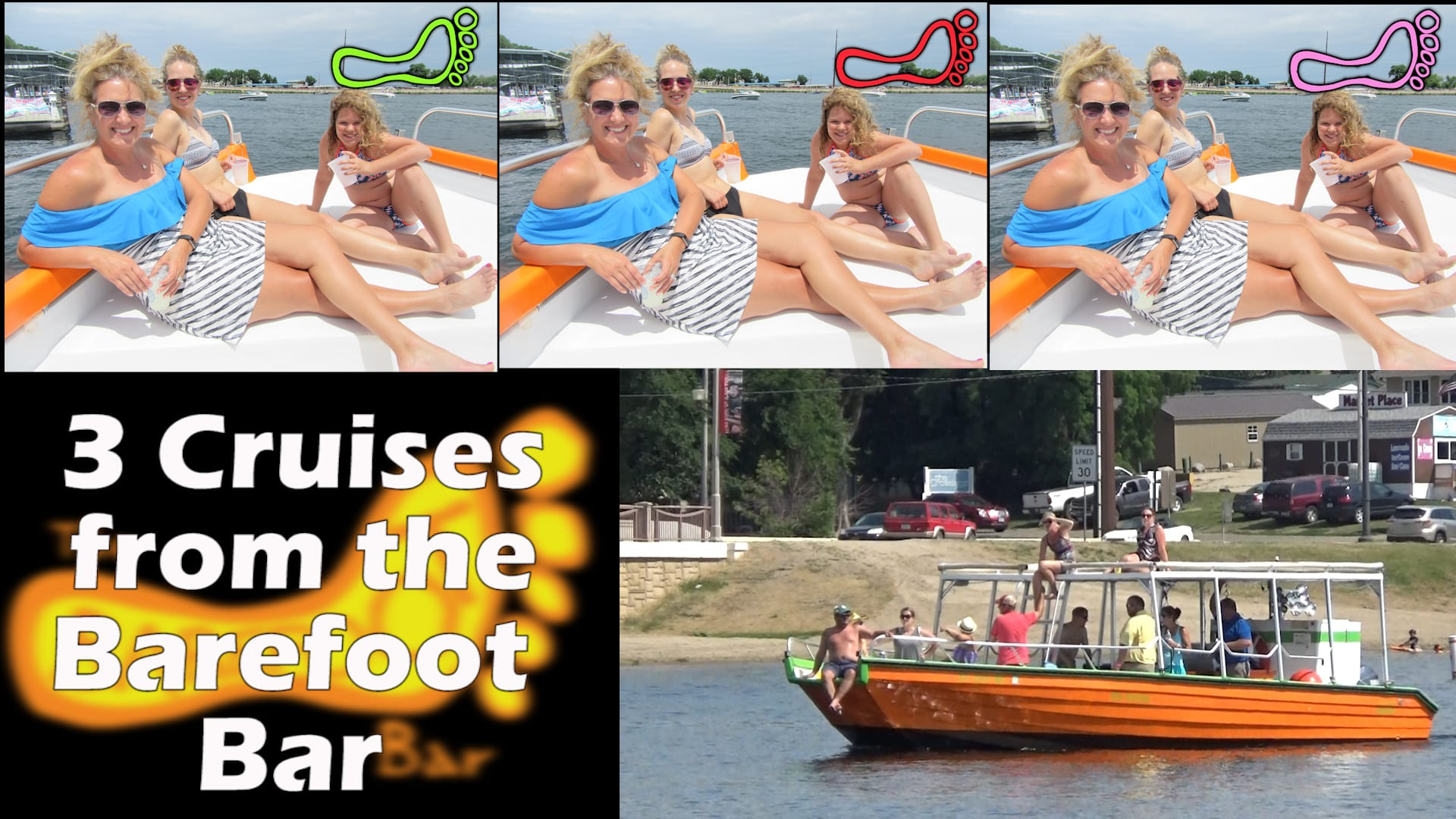 Barefoot Dock Hop Cruises multiply by 3 times this Summer