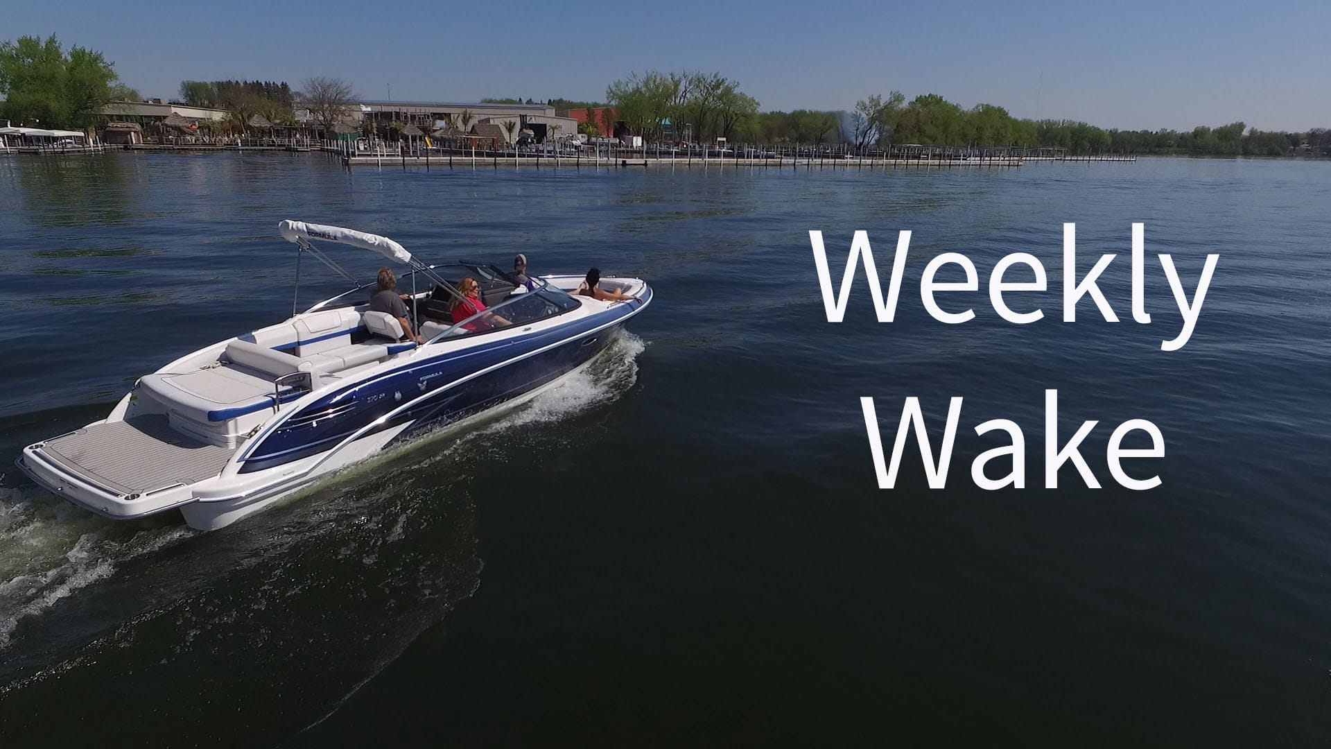 Weekly Wake: Boat of the Week - Formula 270 BR