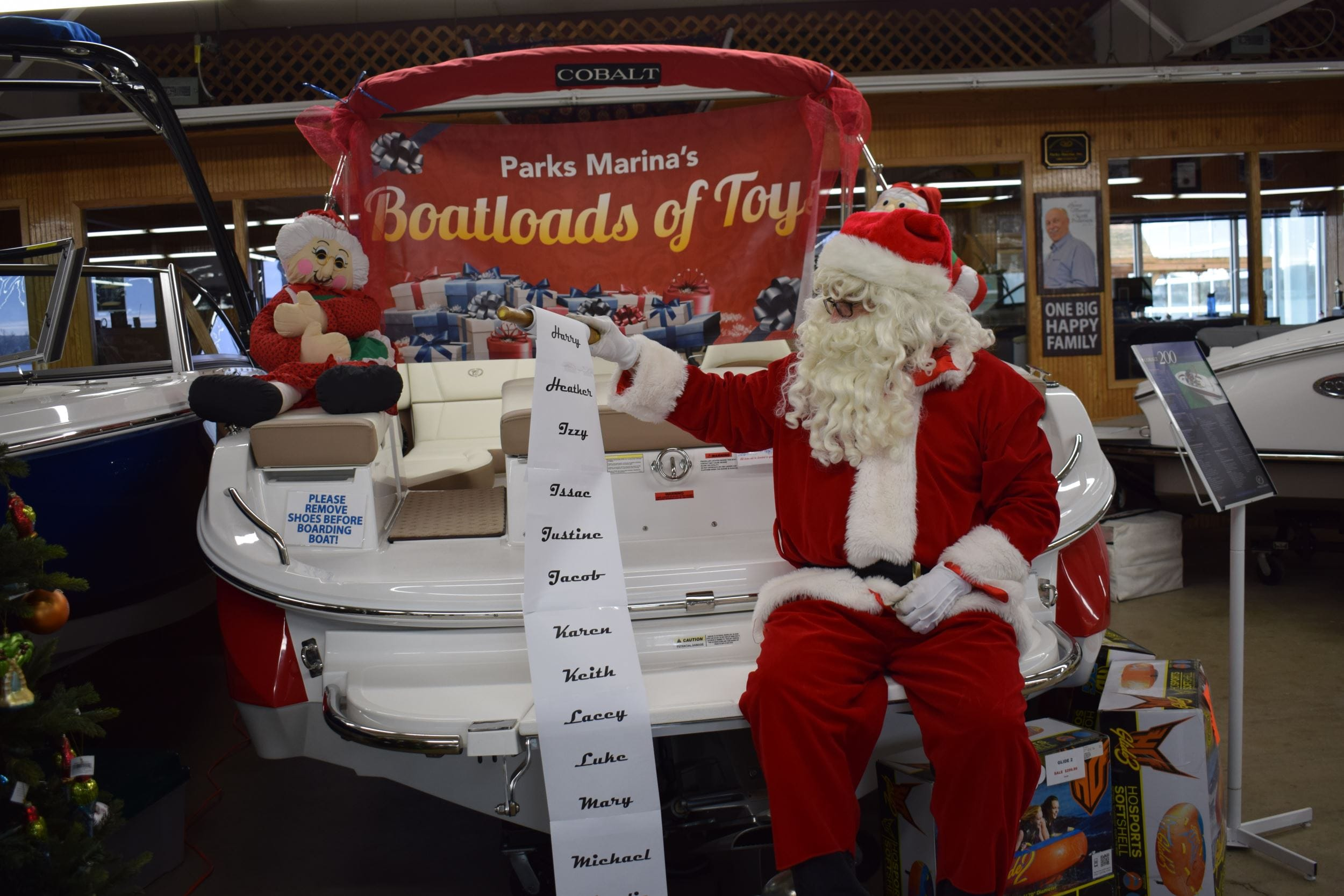 10th Annual Boatloads of Toys Kicks Off