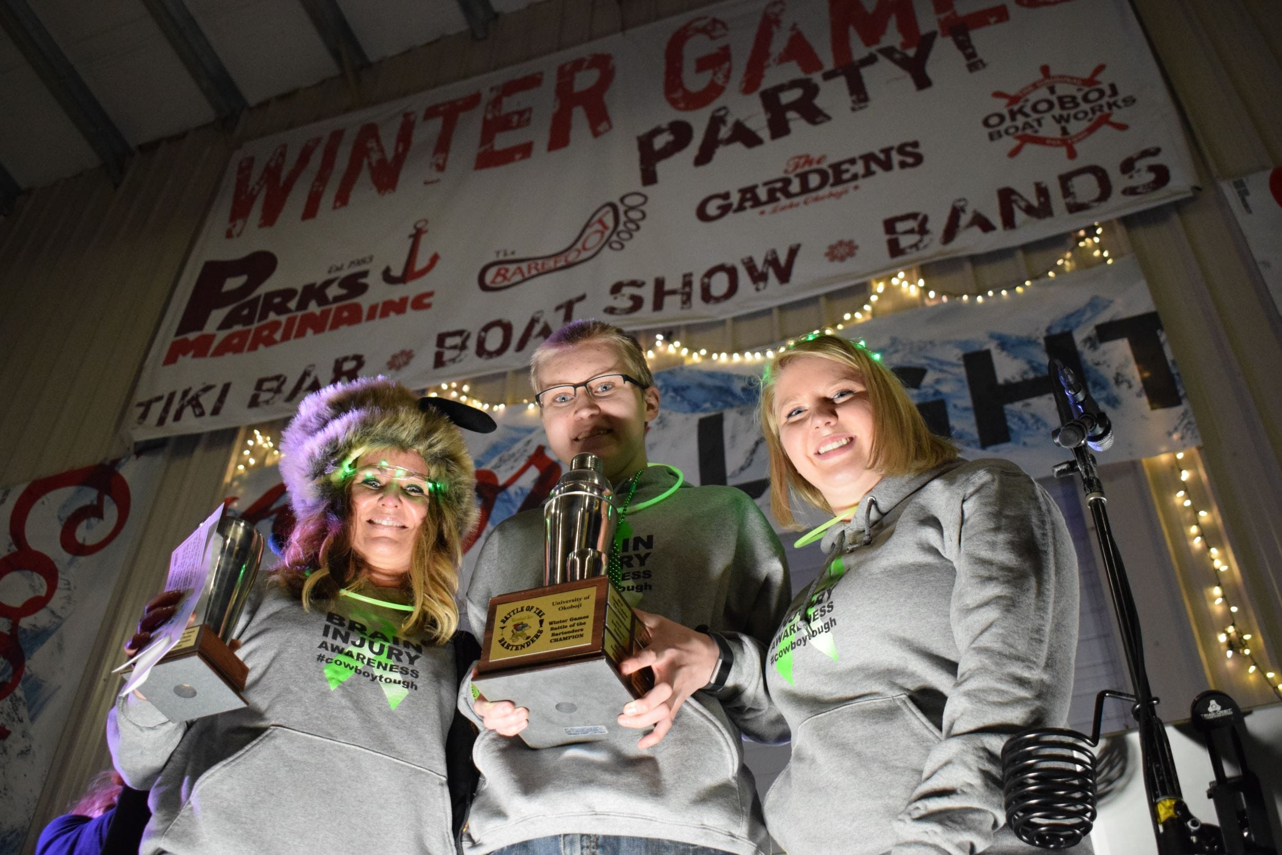 Parks Marina Winter Games events raise over $8,000 for area charities