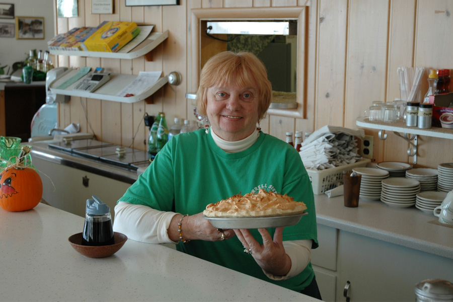 Sharon and Her Favorite Pie