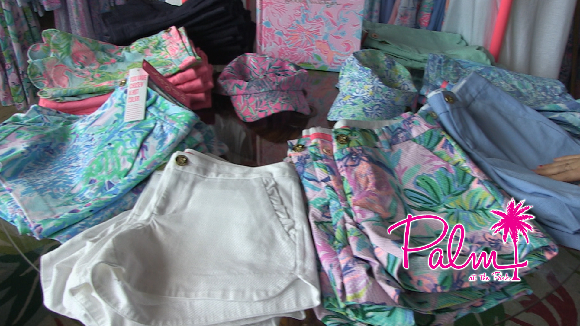 Palm at the Park - Shorts, tops and rompers by Lilly Pulitzer