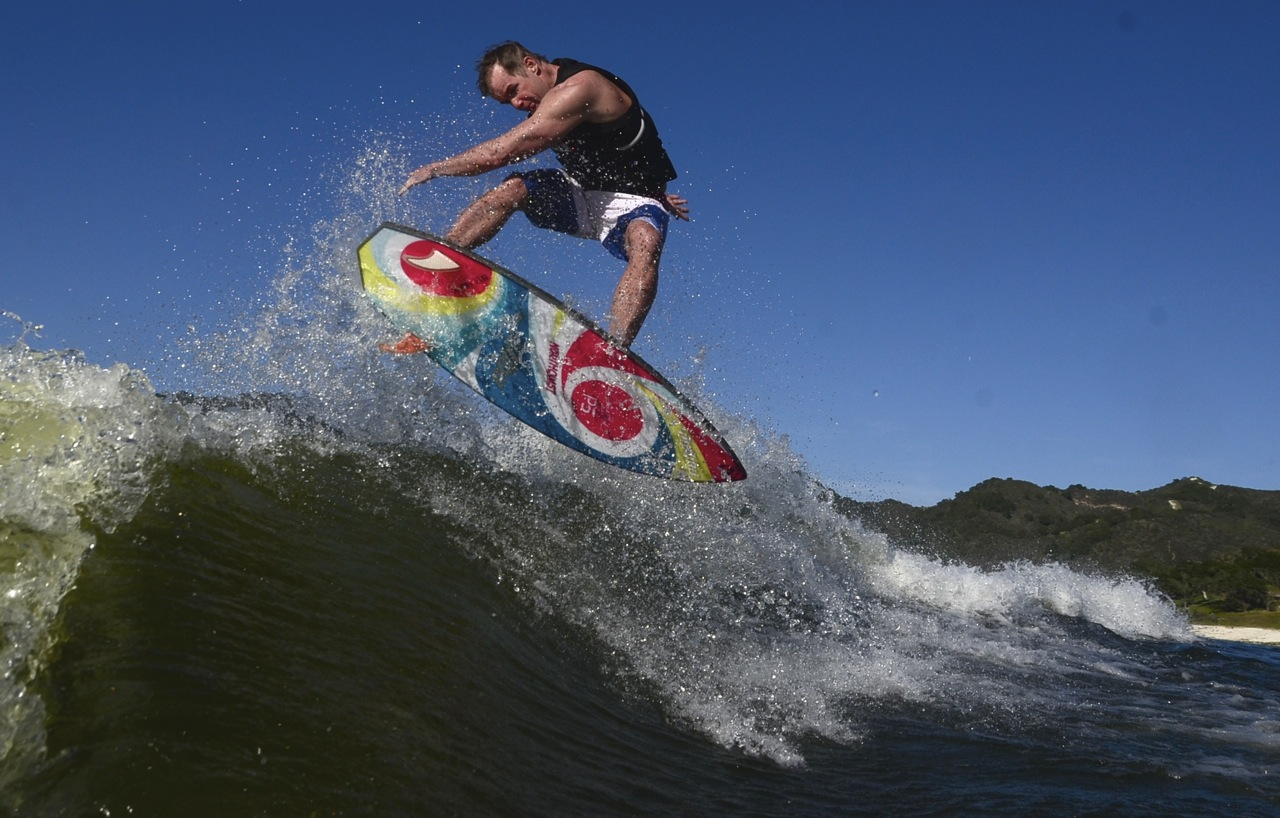 Wakeboard and Wakesurf Lessons with Pro Chris Bank!