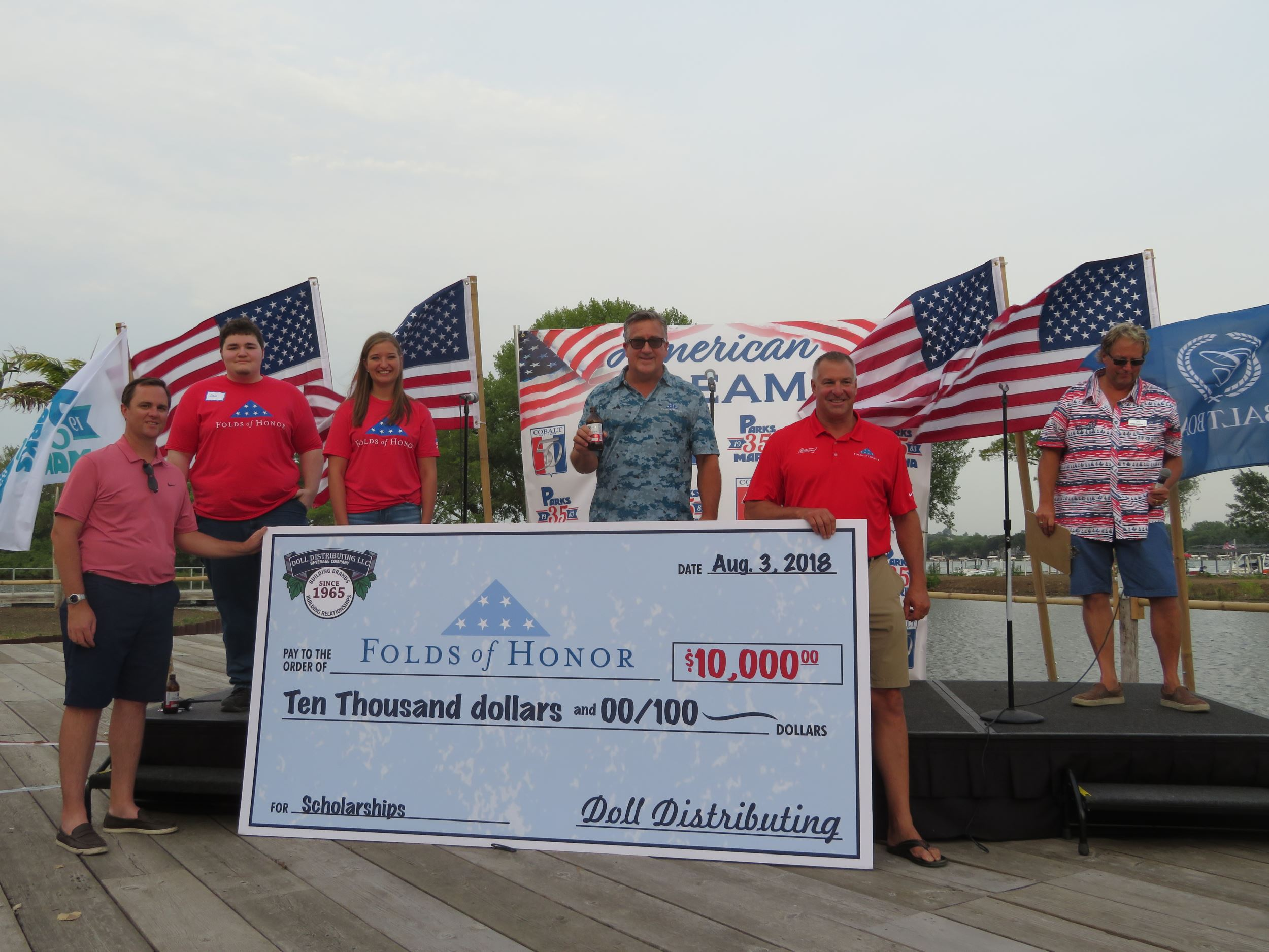 Folds of Honor Highlight Cobalt customers