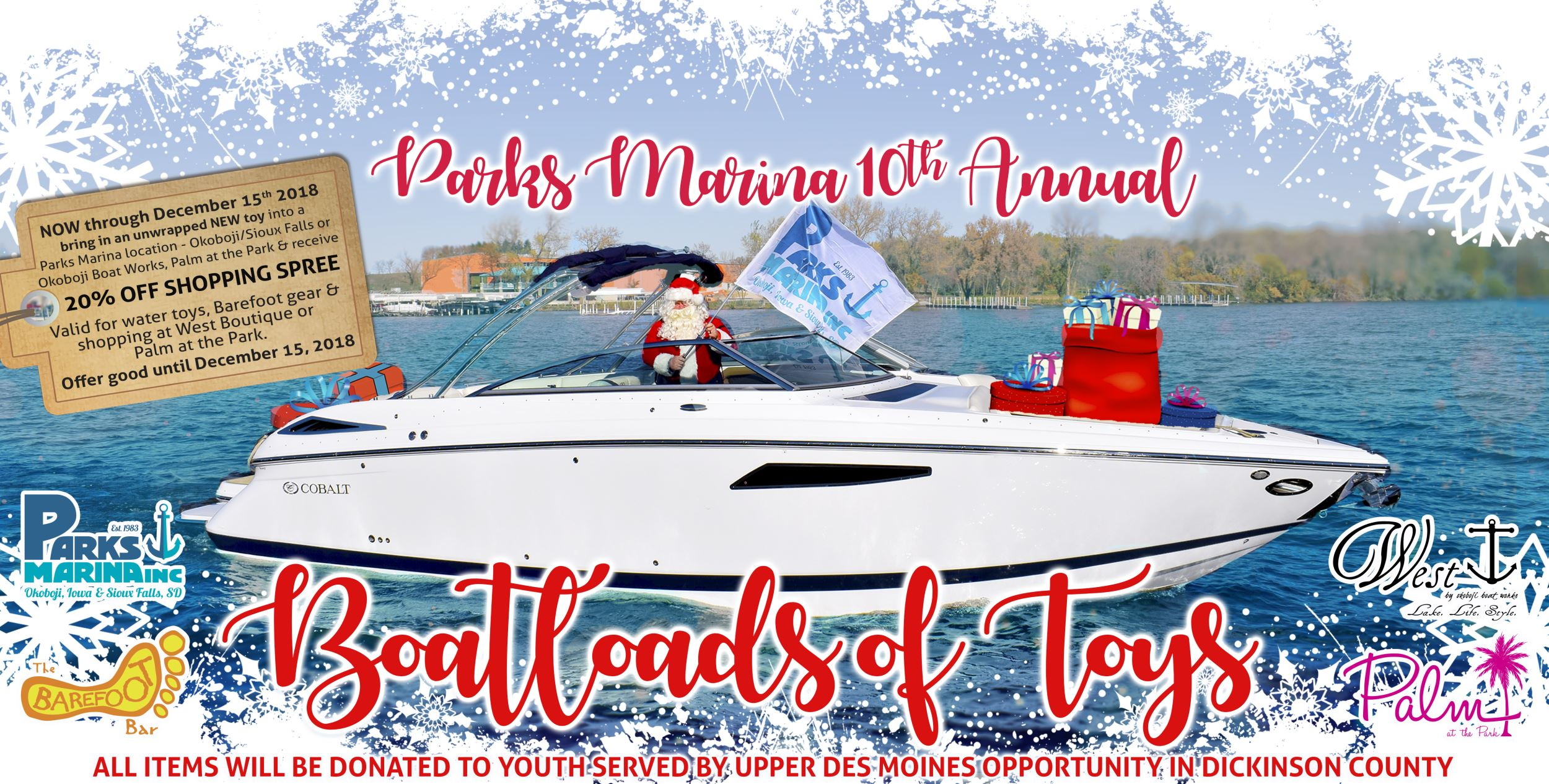 Boatloads of Toys at Parks Marina