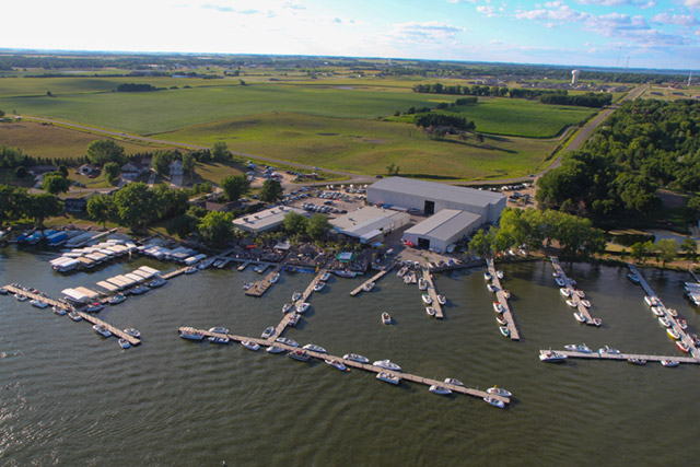 Parks Marina in Okoboji Iowa