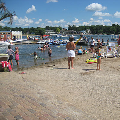 Okoboji Boats Beach Webcam