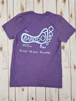 Logo Tee Heather Purple
