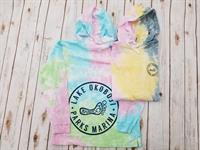 Tie Dye Hood Long Sleeve Tee