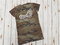 Womens V Neck Short Sleeve Tee