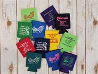 Can Koozie (Assorted Colors)