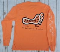 Logo Long Sleeve Tee Orange