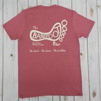 Logo Tee Heather Cardinal