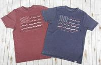 Barefoot Flag Short Sleeve Tee