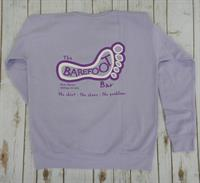 Barefoot Logo Crew Purple Ice
