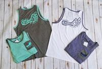 Mens Pocket Logo Tank