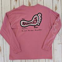 Logo Long Sleeve Tee Dusty Rose