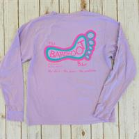 Logo Long Sleeve Tee Wisteria